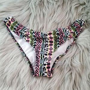 NWT Pink by VS Brazilian cut bikini bottom XS